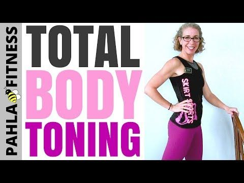 20 Minute Total Body TONING Workout for BEGINNERS | No Squats, No Weights + No Floor Work! • Pahla B Fitness