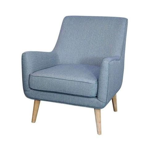 Faris Upholstered Accent Chair Baby Blue Apt2b Upholstered