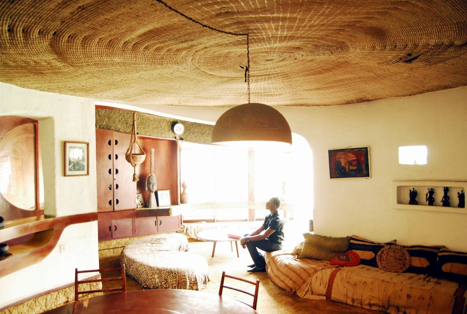 African Modernist Interior Part Of Architect S Alan Vau