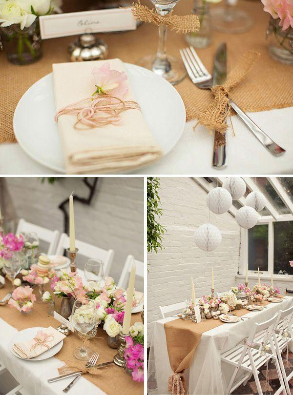 Hessian Wedding Ideas Wedding Decoration Inspiration Cutlery