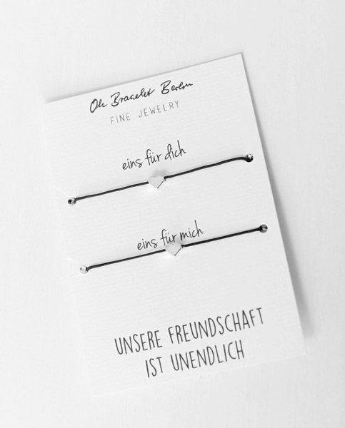 Photo of Oh Bracelet Berlin – Friendship Bracelet Set of 2 | optionally with engraving | Avocadostore