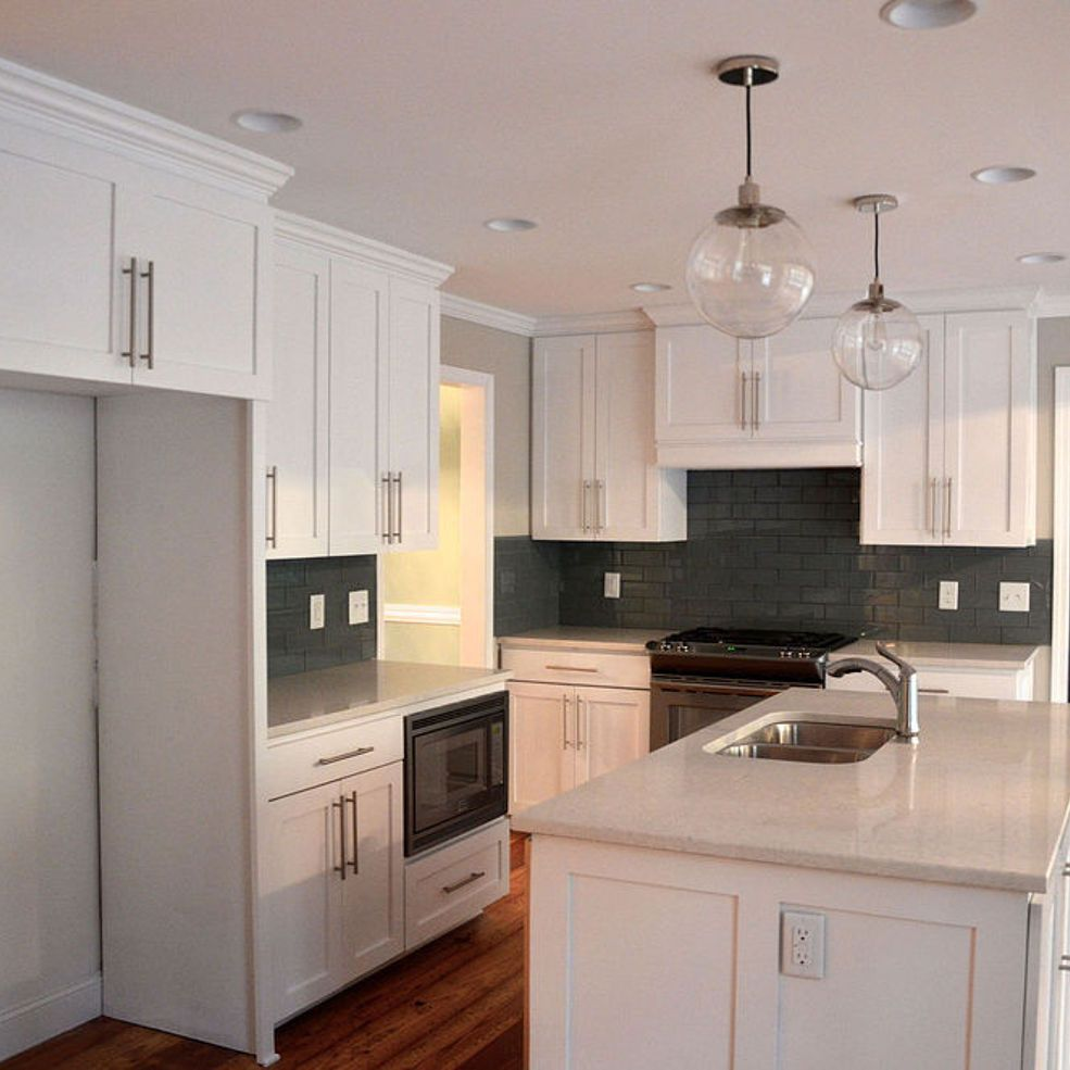 Flip House 1960s Kitchen Before and After. A Major Kitchen ...