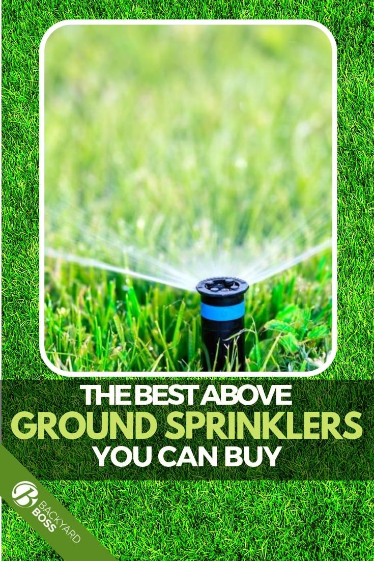 The Top Reviews On Above Ground Sprinklers (With images