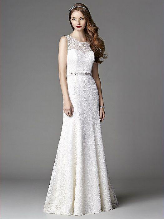 After Six Wedding Dress 1048: The Dessy GroupSleeveless jewel neck ...