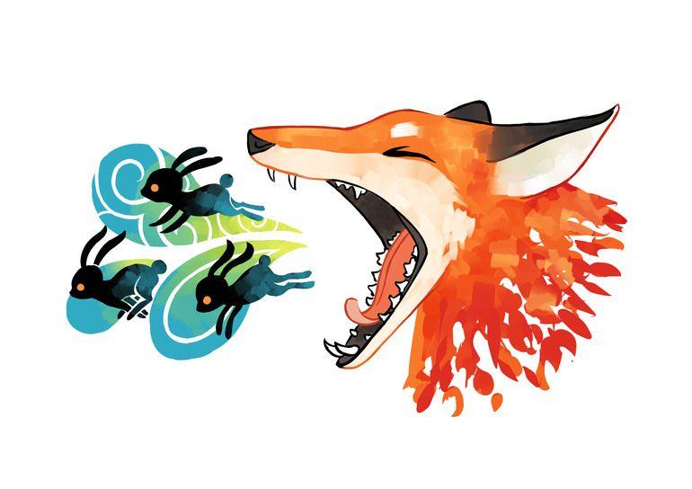 "Saatchi Online Artist: Indrė Bankauskaitė; Painting New Media ""The Hunt"""