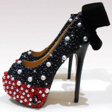 Minnie Mouse Stilettos   Heels, Minnie