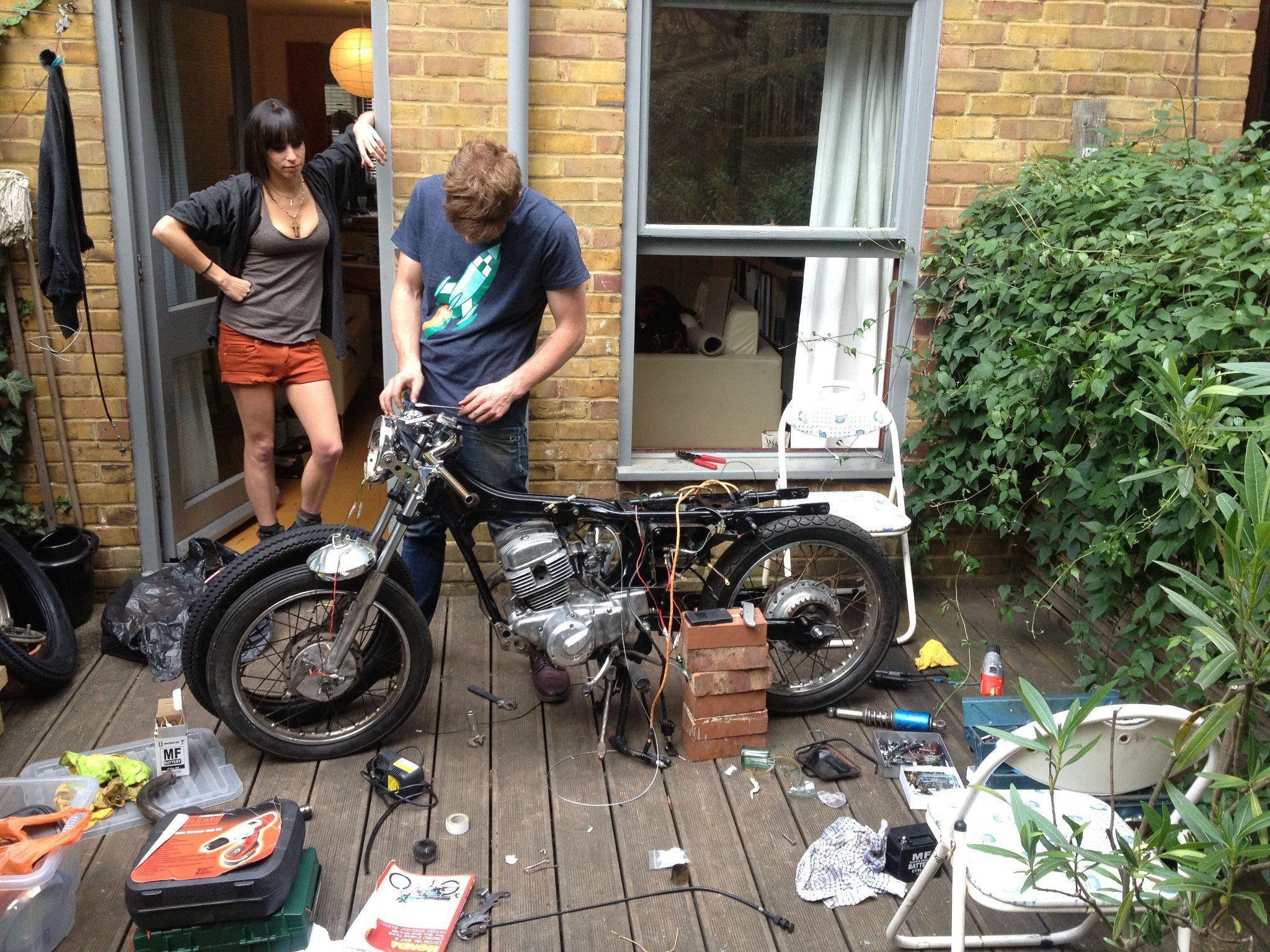 Custom Motorcycle Handmade #Fotografia #Moto #Stile