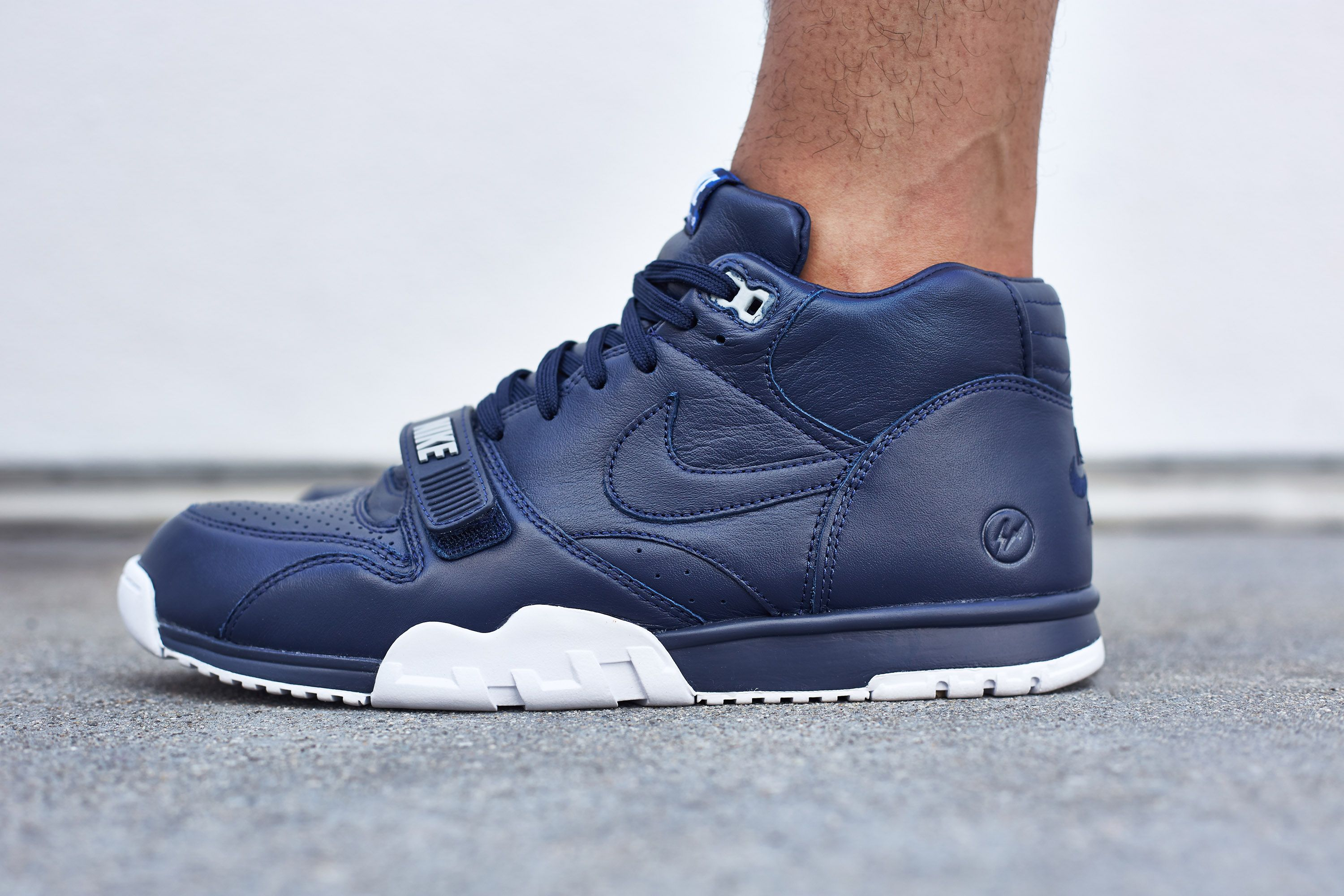 """275a18a95909 On-Foot Look    Fragment x Nike Air Trainer 1 """"US Open"""" Pack Pt.1 ..."""