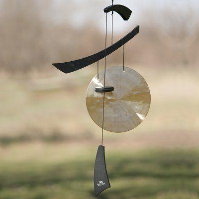 Nouveau Métal Windchime Bee Design jardin extérieur mobile ornements