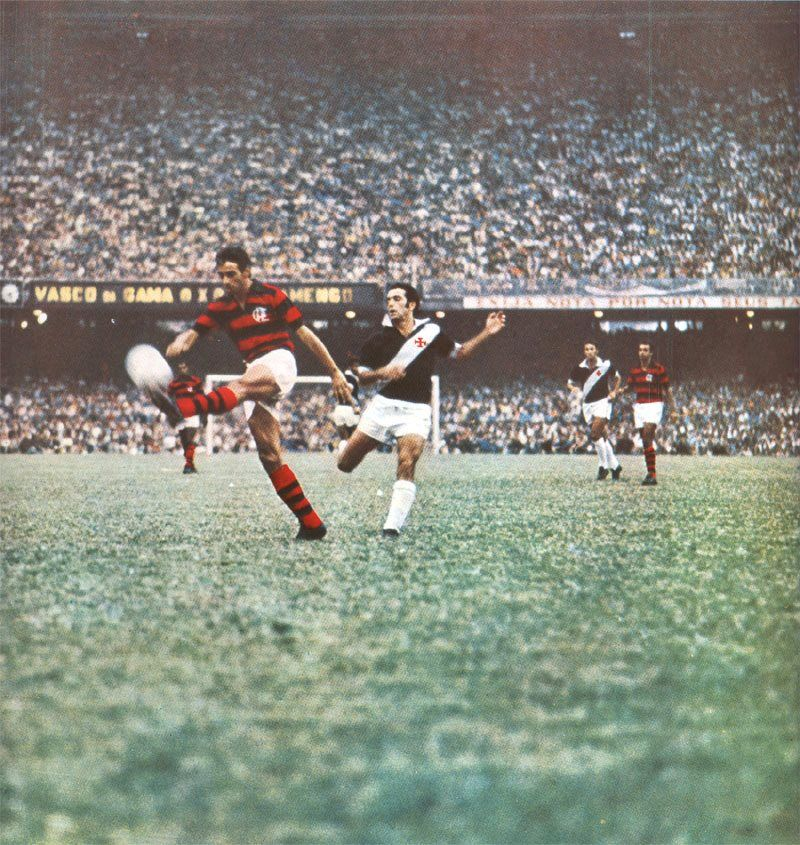 Flamengo X Vasco No Maracana Anos 60 Futebol Carioca Futebol Futebol Brasileiro