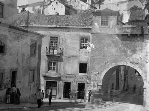 Arco De Santo Andre 1904 Vintage Portugal De 2019 Lisboa
