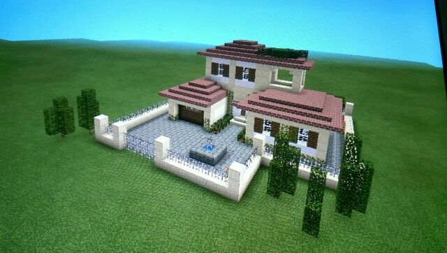 Minecraft haus my minecraft board pinterest for Minecraft haus modern