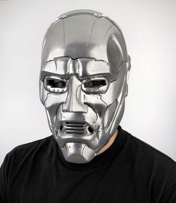 Dr. Doom Mask #Mask | Masks | Pinterest | Masking