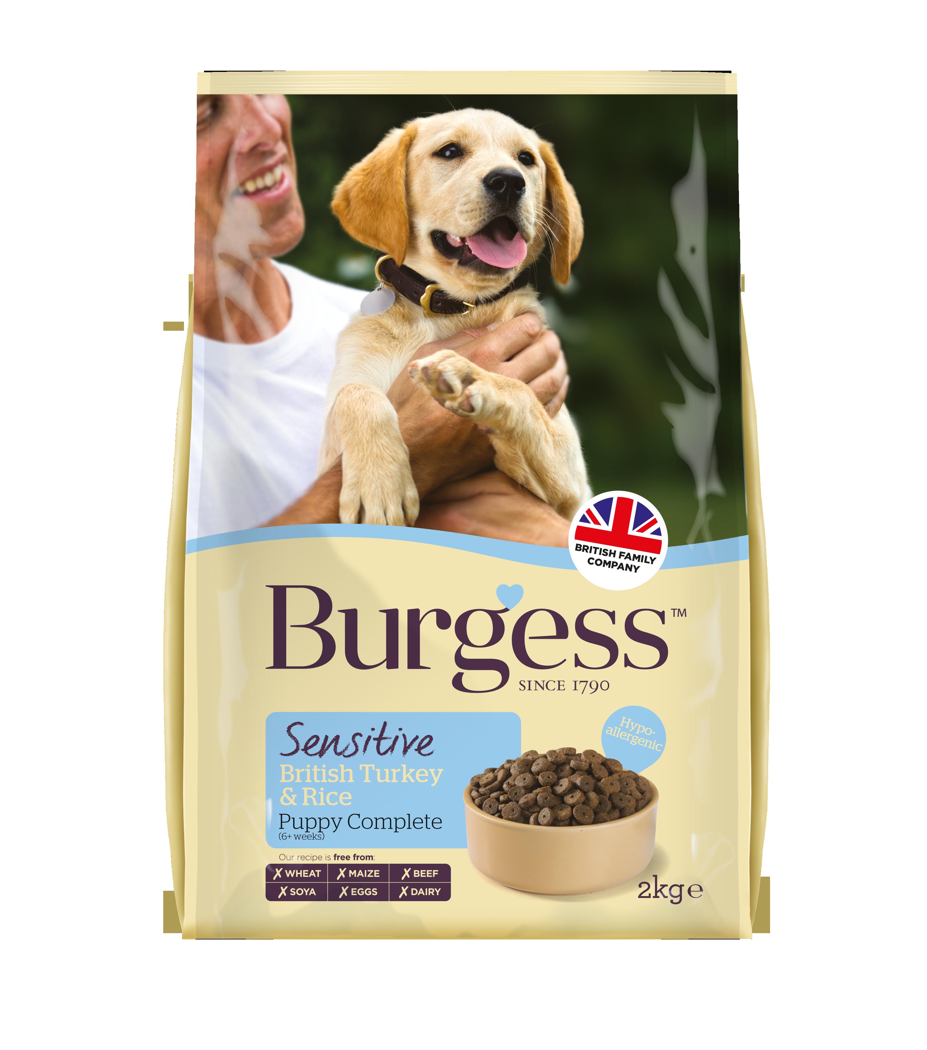 Burgess Sensitive Dog Turkey & Rice (With images) Dog