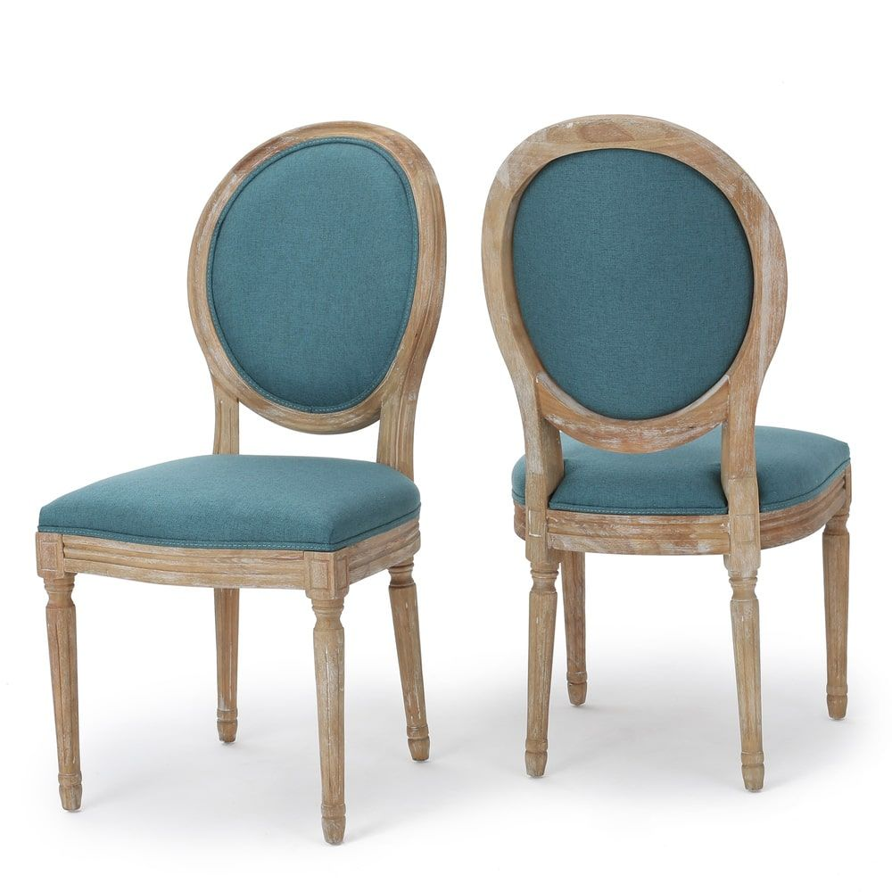 Phinnaeus Fabric Dining Chair (Set of 2) by Christopher Knight Home ...