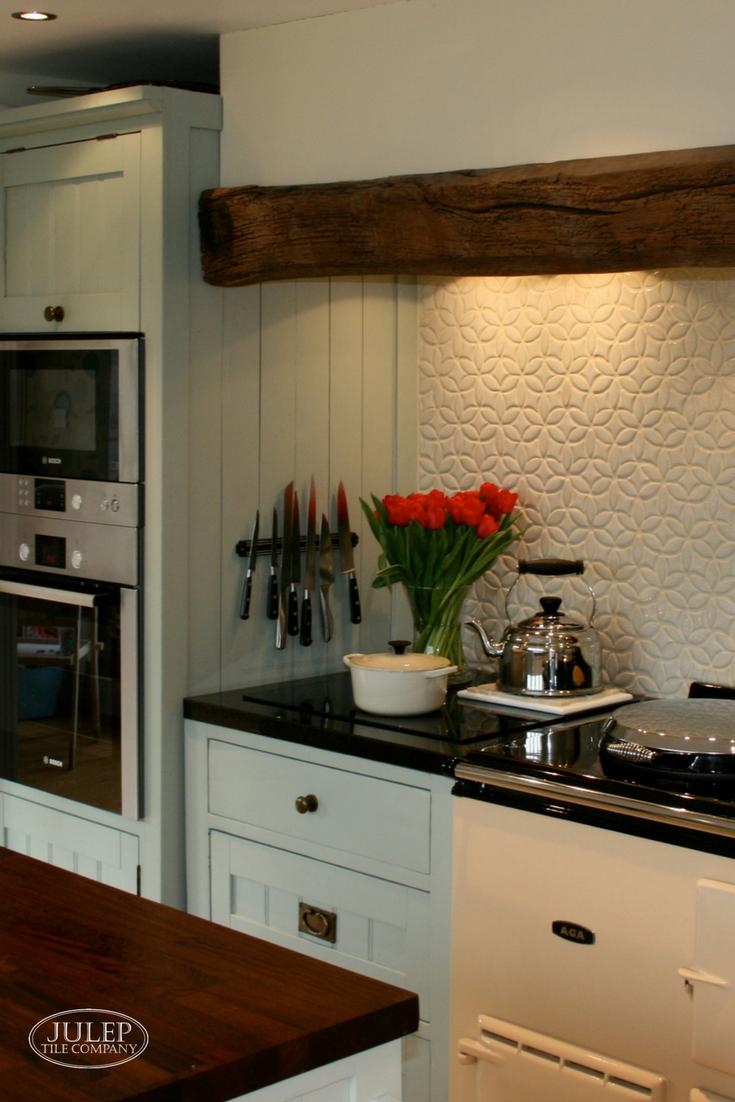 English Country Kitchen With Bloom Handmade Tile English Country Kitchens Country Kitchen Country Kitchen Designs