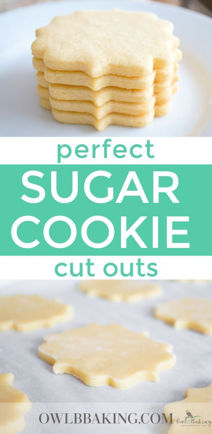 The Best Sugar Cookie cut outs are soft, thick, sinfully buttery and taste amazing whether they are decorated or not! Make easy sugar cookie cut outs that keep their shape & edges. This is a no-chill recipe! #bestsugarcookierecipe #cookierecipes #nochillcoookies #sugarcookies #cutouts #decoratedcookies #cookierecipes #royalicing