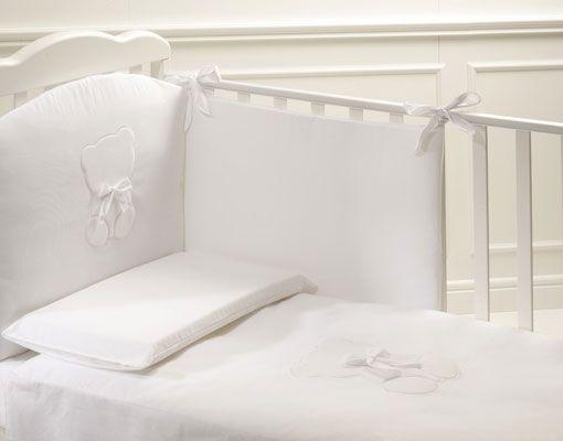 cameretta Perla noce antico con lettino Perla #baby #crib #cot