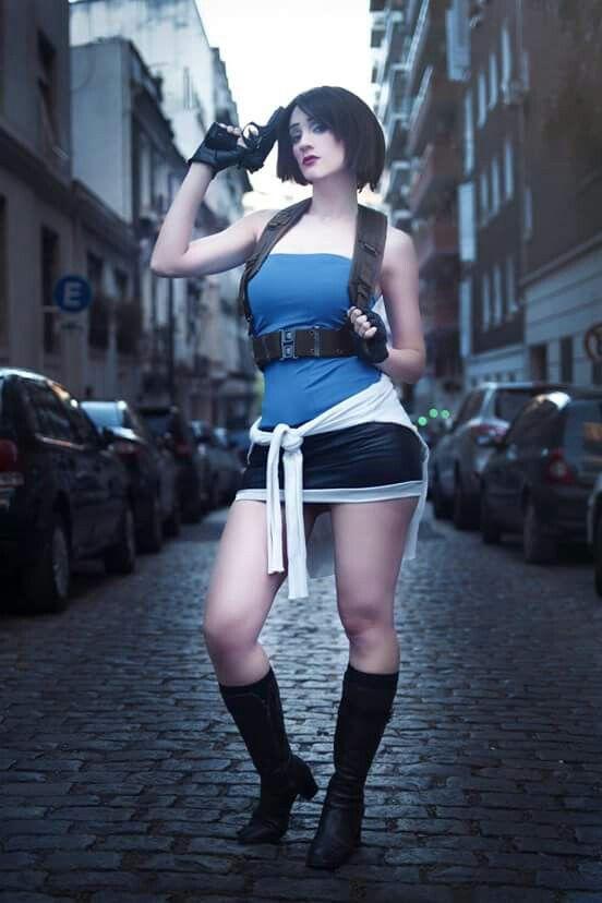 Jill Valentine Re3 Nemesis Cosplay By Cosplayer Sophie Valentine
