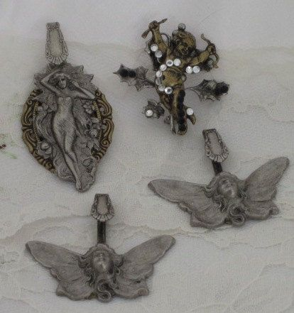 Metal Stamping Spoon FAIRY PENDANTS and by thejoanandlucyshow