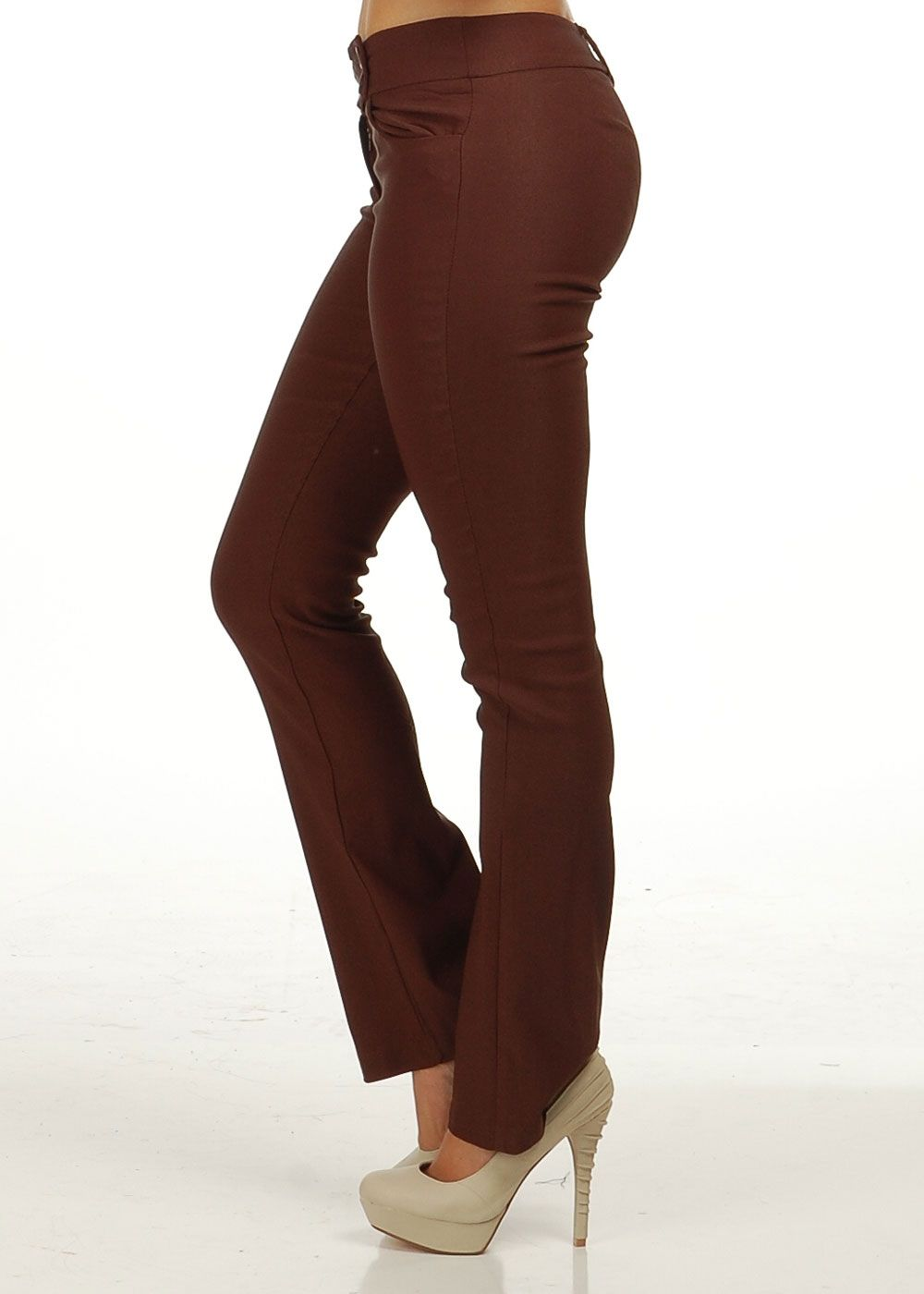Brown Womens Pants