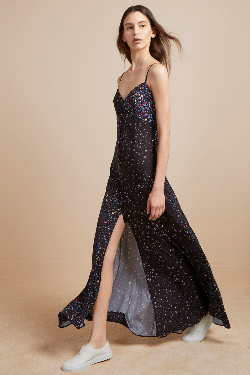 a7459a0d24 aubine fluid floral maxi dress