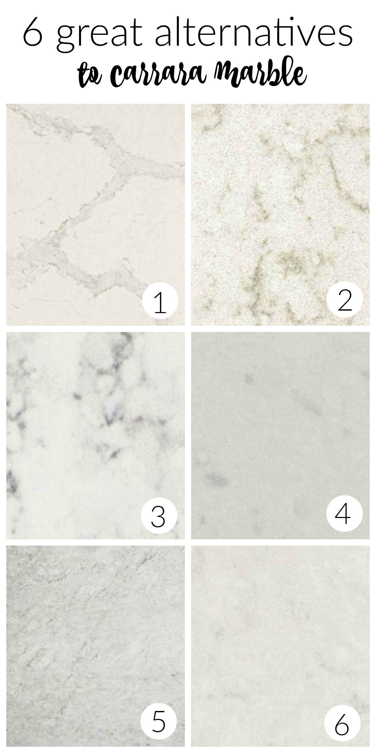 Alternative Kitchen Flooring 6 Great Alternatives To Carrara Marble Kitchens Carrara Marble