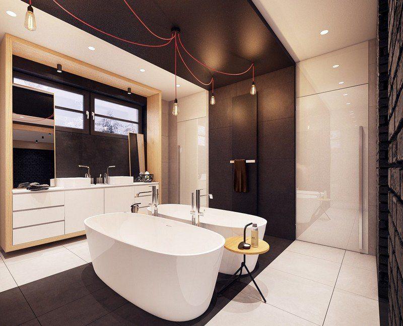 Decke Badezimmer ~ Badezimmer decke badezimmer design im art deco stil kunstfell
