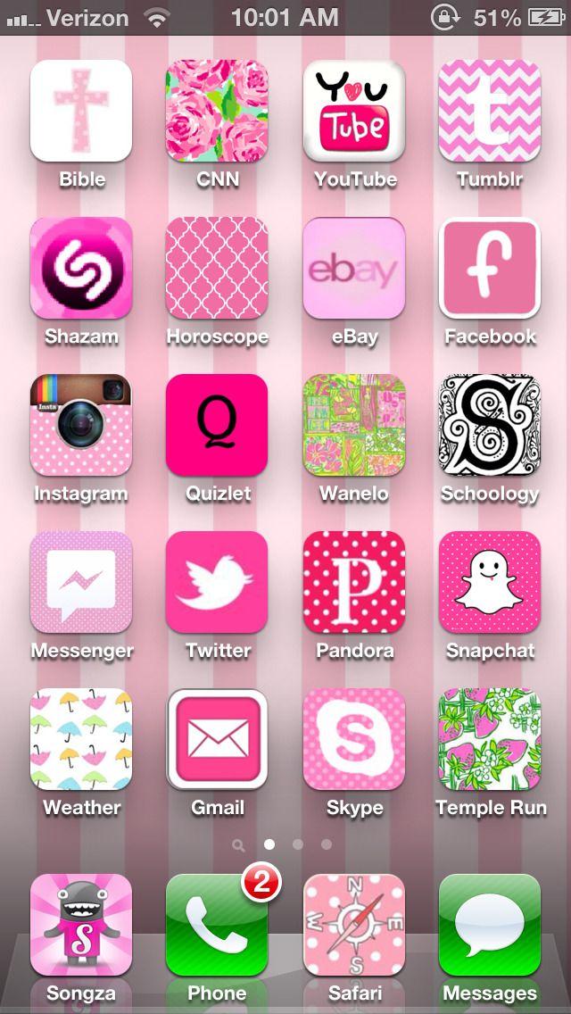 xoxo. — My beautiful home screen thanks to... Iphone