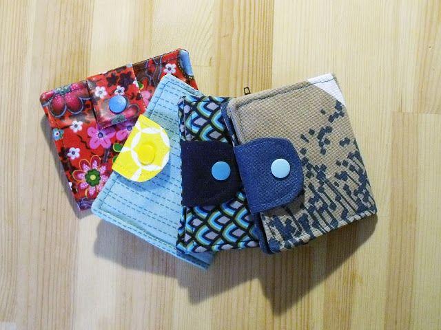 Nähanleitung: kleines Portemonnaie | just sewn. | Pinterest ...