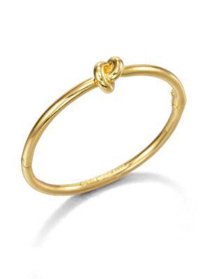 Kate Spade Sailor S Knot Bangle Bracelet Goldtone Katespade