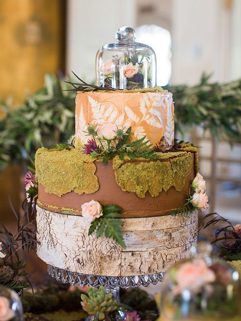 Rustic Wedding Cake Ideas for Any Season Wedding cake