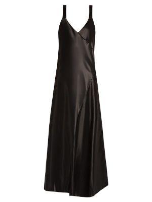 Amoret V-neck bias-cut satin dress | Tibi | MATCHESFASHION.COM US
