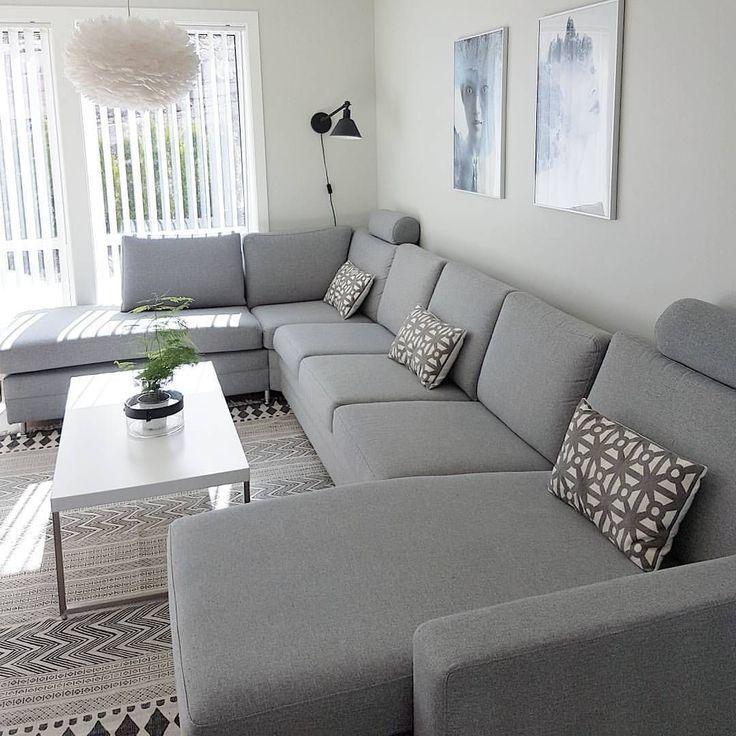 34+ Wunderbare minimalistische Wohnzimmer Design Ideen design ideen minimalis   Wohnzimmer ...