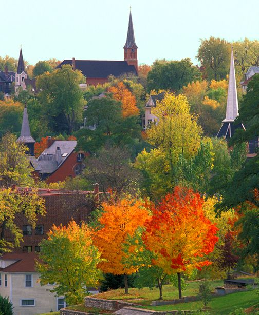 Places To Visit In The Fall In Usa: Homesteading In Beautiful Minnesota. Click On Picture To