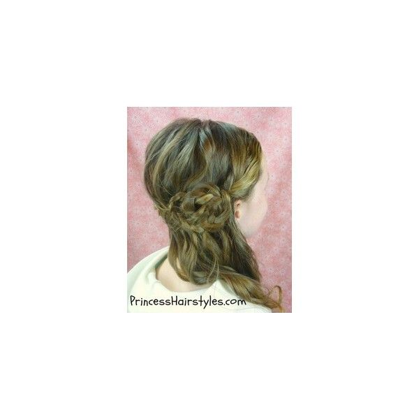 So pretty Lovely Locks ❤ liked on Polyvore featuring accessories, hair accessories and braid crown