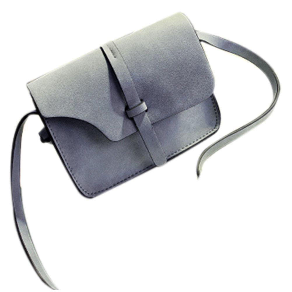 Women Bags Nubuck Mini Crossbody Bags Vintage Women Shoulder Bag