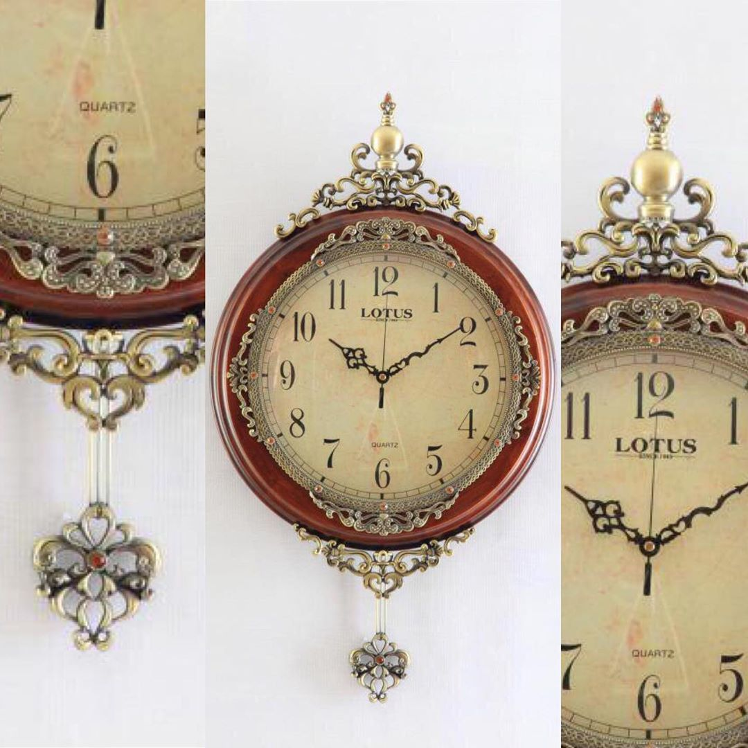 Clock Model L1802 Ew Wooden Clock By Luxurylotus Size Of The