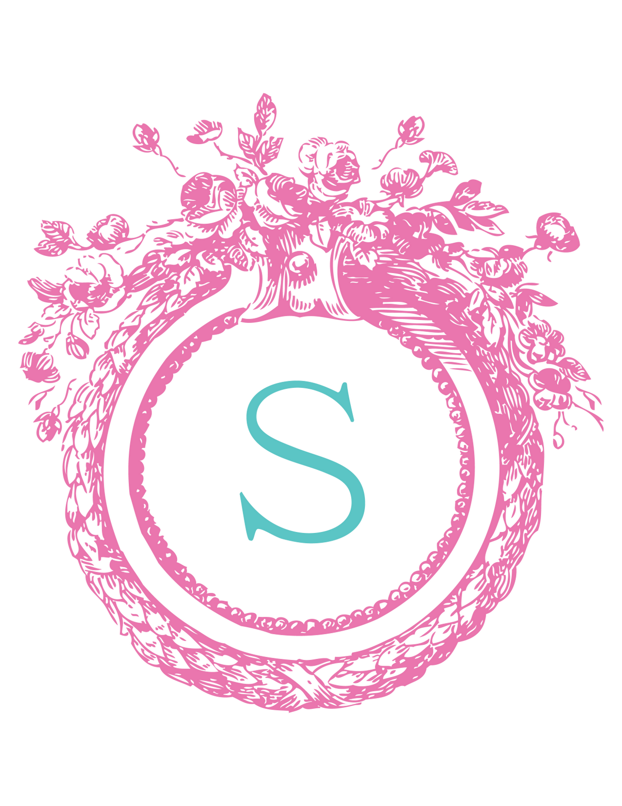 Free Monogram Templates | Free monogram design service from ...