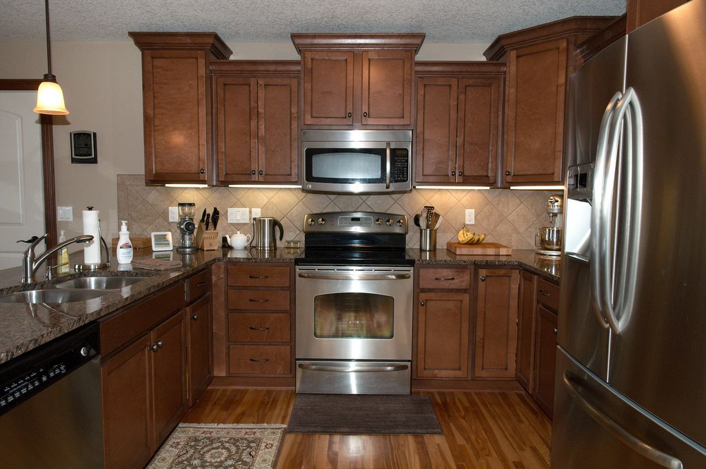 Best Baltic Brown Granite Kitchen Countertop Finished Installed 640 x 480
