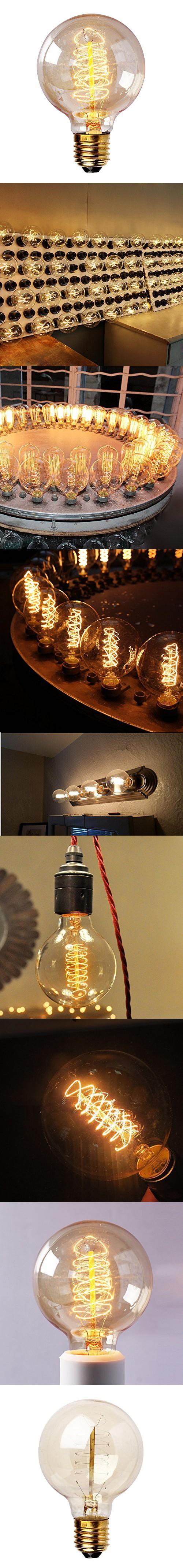 Parrot Uncle Vintage Edison Light Bulb 40w 110v Antique E26 Base