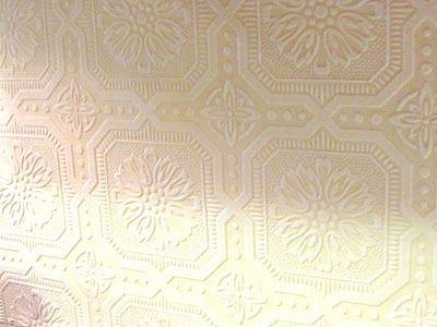 Wallpaper Backsplash D I Y Part 1 Paintable Wallpaper Embossed