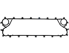 Пластинчатый разборный теплообменник Росвеп GC 8P Артём Паяный теплообменник Машимпэкс (GEA) GWH 220 Сыктывкар