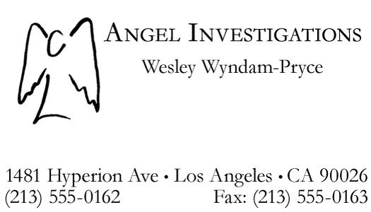 Angel calling card | http://agoldoffish.wordpress.com/quotations-what-whedon-hath-wrought/