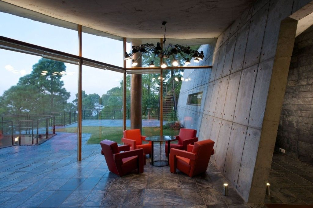 Contemporary House Exterior In The Himalayas By Rajiv Saini
