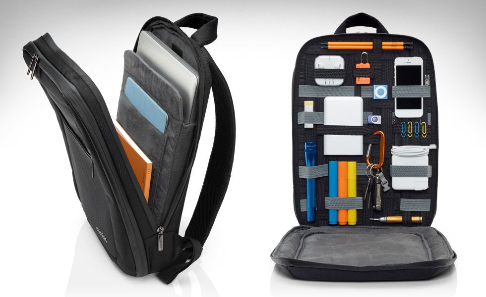 Cocoon slim backpack. Great for organizing electronics and other small  items while on the road. Holds notebooks and laptops up to 15 in. b19fe26fe682