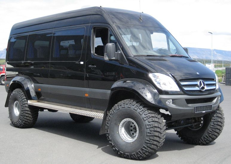 Mercedes sprinter 4x4 camper vans off road trailers for Mercedes benz sprinter camper van