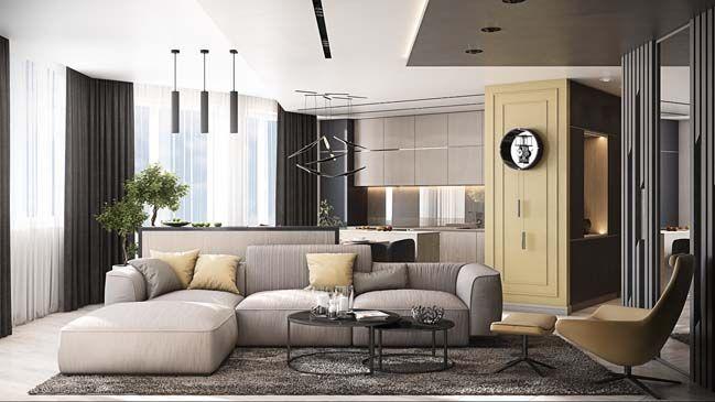 Modern Apartment Modern Apartment Interior Design Studio Interior Luxury Home Decor