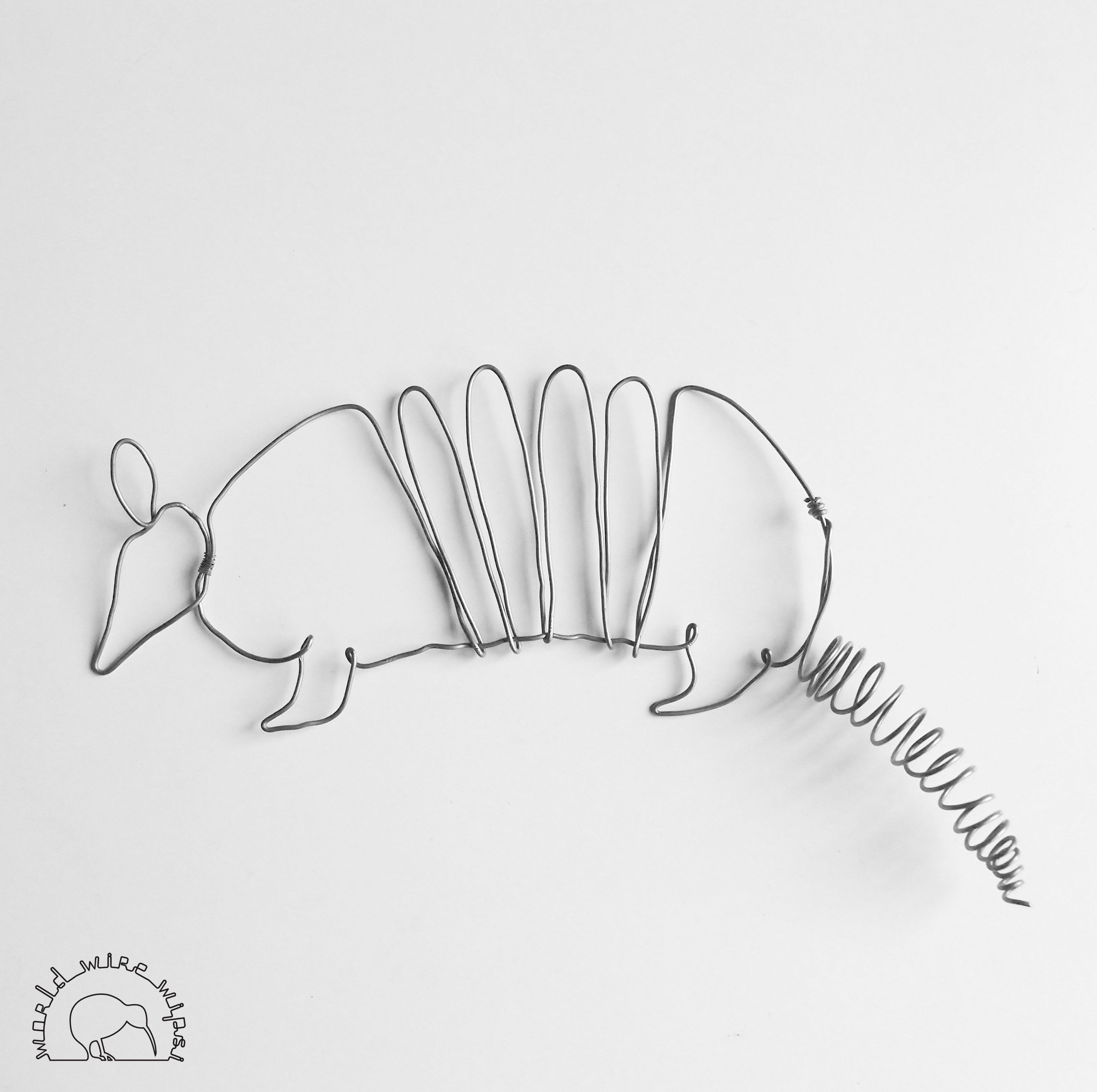 Armadillo wire | wire animals | Pinterest
