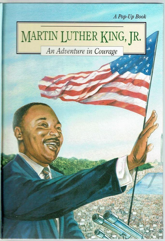 Children S Pop Up Book Martin Luther King Jr An Adventure In
